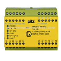 774100 PILZ 774100 PNOZ EX 230VAC 3N//O 1N//C SAFETY RELAY USED