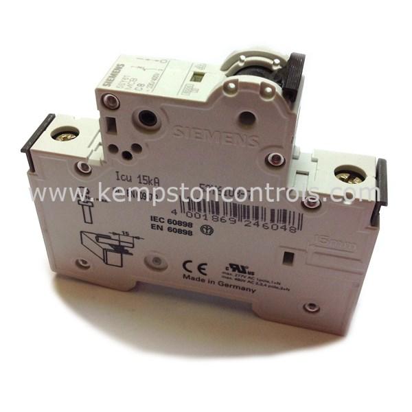 Siemens - 5SY6108-7 - MCBs