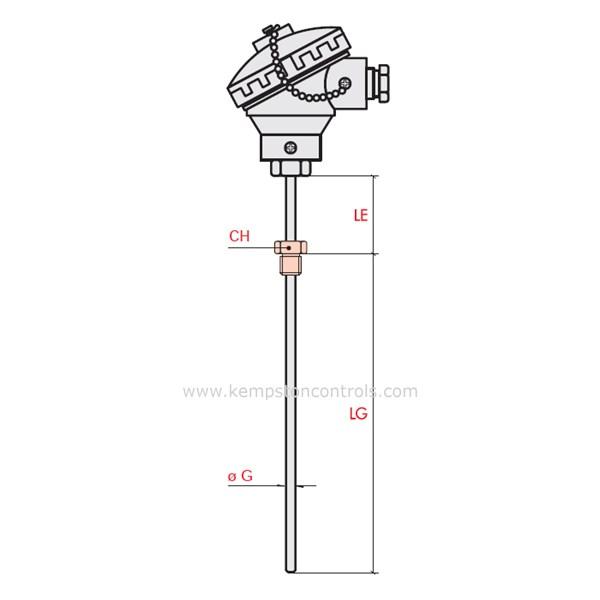 ASCON - RF1S80P00B0230S00 - Temperature Sensors