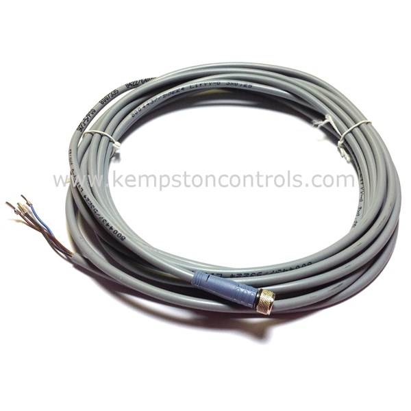 Turck Banner - SKP3-5/P00 CONNECTOR CABLE, M8, FEMALE, STRAIGHT, 3 PIN, 5M  PVC CABLE
