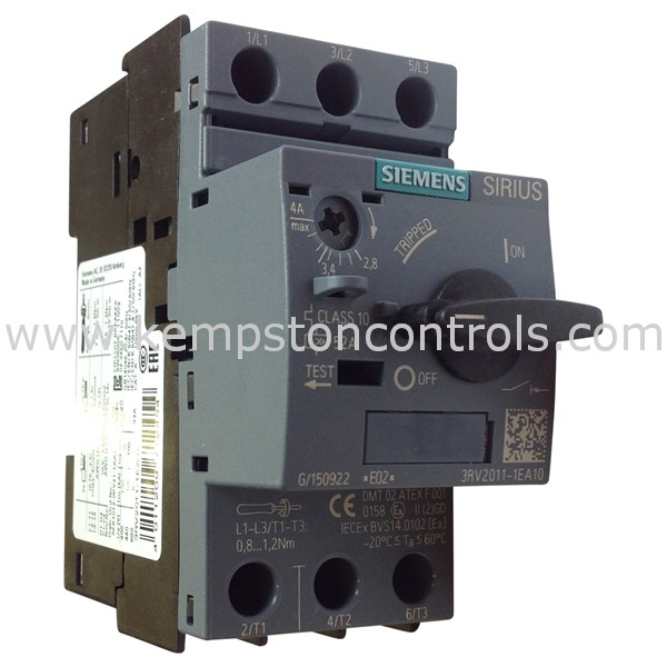 Siemens - 3RV2011-1EA10 - Motors & Drives