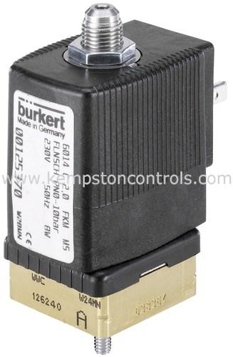 Burkert 00125373 Pneumatic Valve Mounting Equipment & Accessories