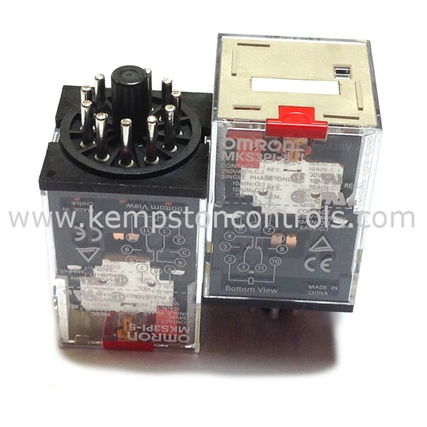 Omron MKS3PI-5 AC230 Non-Latching Relays
