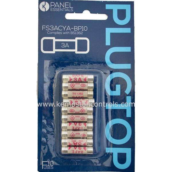 Panel Essentials FS3ACYA-BP10 Fuse Kits