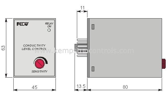 AECO - CL1001/O 220VAC - Water Level & Liquid Level Sensors