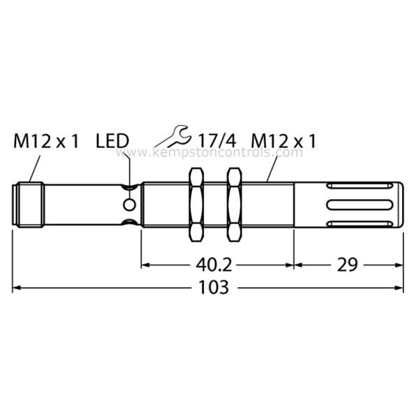 Turck Banner - M12FTH3Q - Temperature Sensors