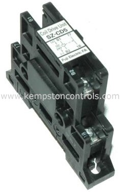 Fuji - SZ-CD5 SZ-CD5 DC24V COIL DRIVE UNIT W RELAY OUTPUT FOR SCN4 TO SCN12  CONTACTORS