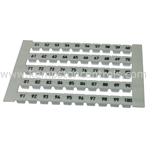 Weidmuller - 0473460051 - Terminal Blocks, DIN Rail & Accessories