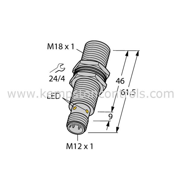 Turck Banner - BI8U-EM18MWD-VP6X-H1141 - Proximity Sensors / Proximity Switches