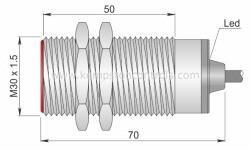 AECO SI30-C10 NPN NO S Proximity Sensors / Proximity Switches