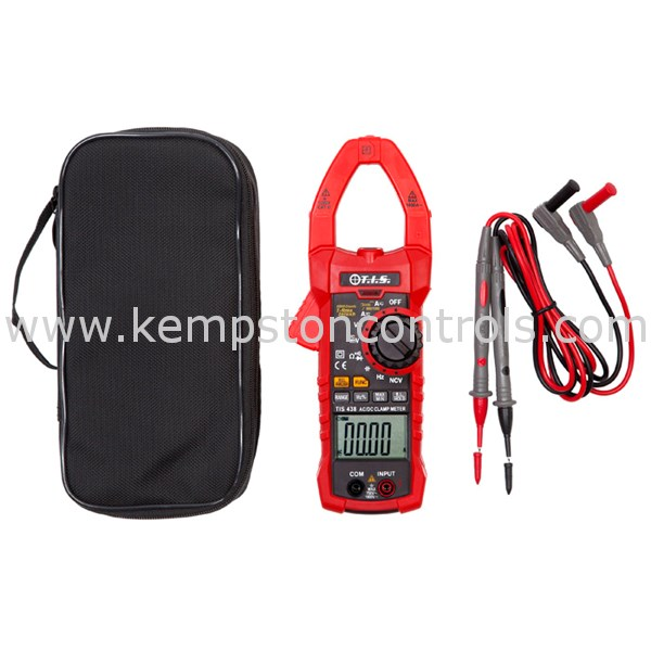 T.I.S. - TIS 438 - Clamp Meters