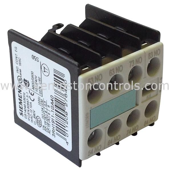 Siemens - 3RH1911-1GA40 - Contactors