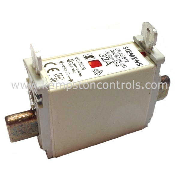 Siemens - 3NA6812 - Centred Tag Fuses