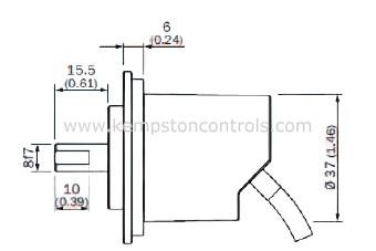 Sick DBS50E-S5EP00S03 Incremental Encoders