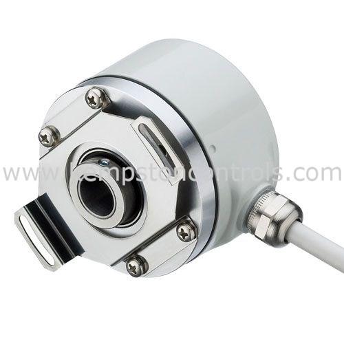 Hengstler - 0522084 RI58 Series, Incremental Encoder, 250 Pulses, 10 mm  Solid Shaft, 58 5 mm (Dia ) x 79 5 mm (W)