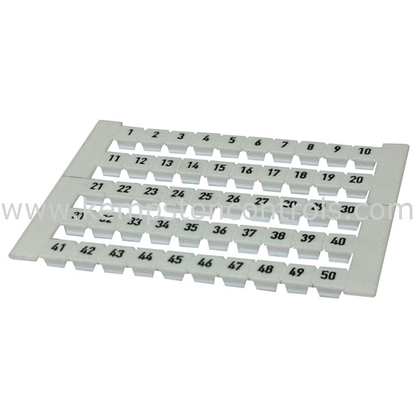 Weidmuller - 0473460001 - Terminal Blocks, DIN Rail & Accessories
