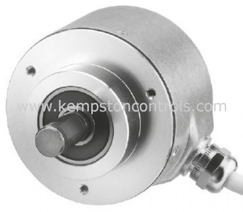 Hengstler - 0522085 RI58 Series, Incremental Encoder, 5000 Pulses, 10 mm  Solid Shaft, 58 5 mm (Dia ) x 79 5 mm (W)