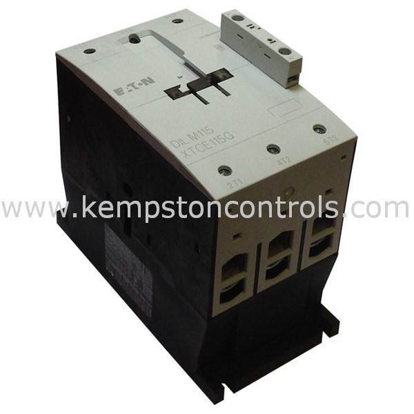 Moeller - DILM115(RAC120) CONTACTOR, 3-POLE 55KW