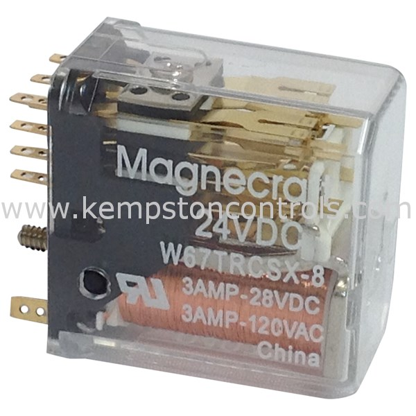 Magnecraft - W67TRCSX-8 - Electromechanical Relays