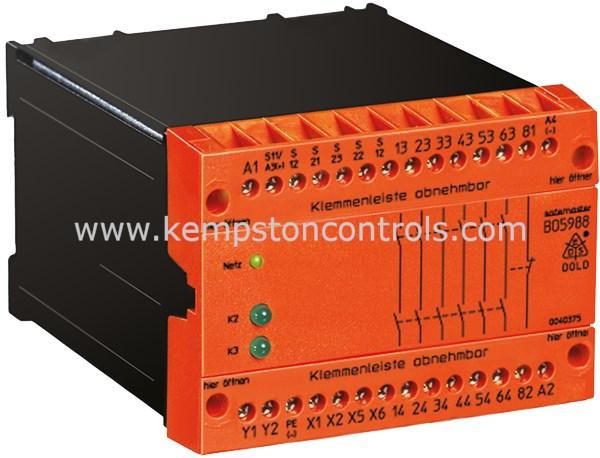 Dold BO5988.61/024 DC24V+AC230V Safety Relays