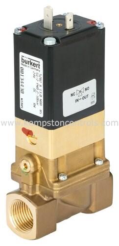 Burkert 00134446 Pneumatic Solenoid/Pilot-Operated Control Valves