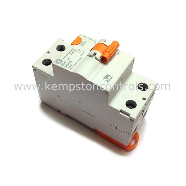 GE - DCG280/030 80A 2P RCCB 30MA TYPE AC SERIES DMS