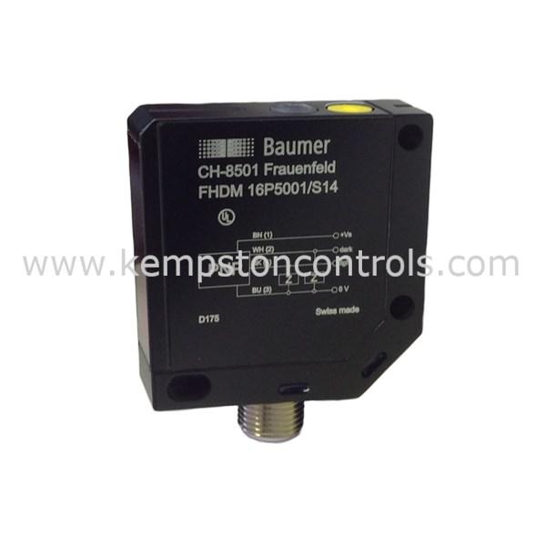Baumer - FHDM 16P5002/KS34A PHOTOELECTRIC BACKGROUND SUP  SENSOR PNP