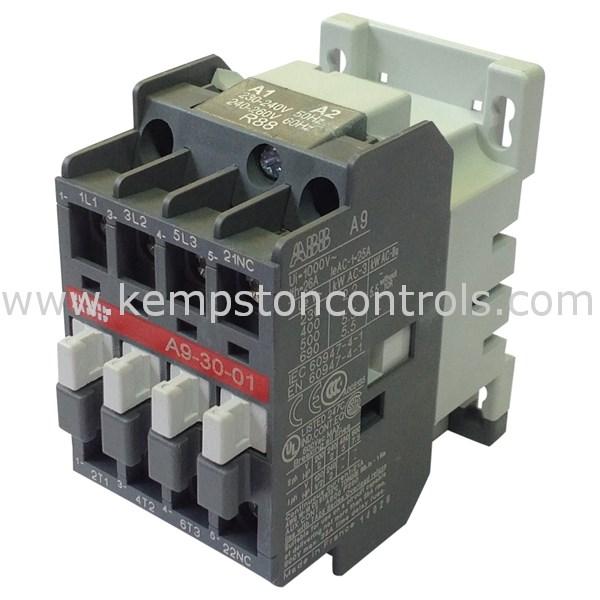 ABB - A9.30.01 230-240V 50HZ - Electrical Contactors
