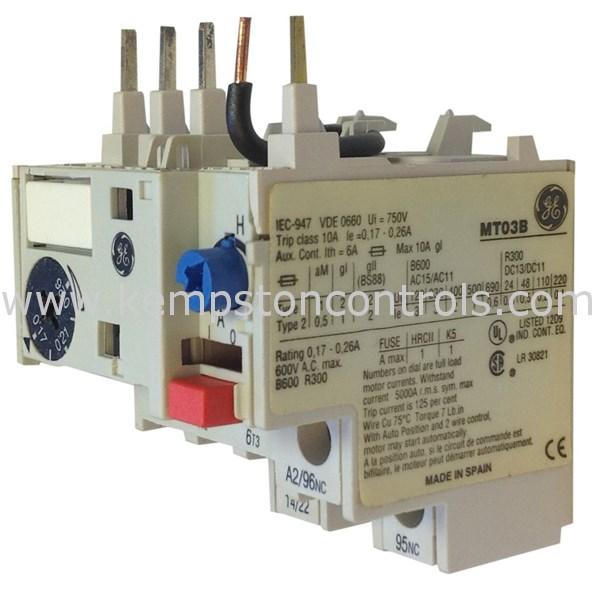 GE - MT03B - Electromechanical Relays