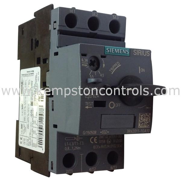 Siemens 3RV2011-1GA10 Circuit Breakers