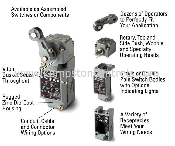 Eaton - E50DL1 - Limit Switches