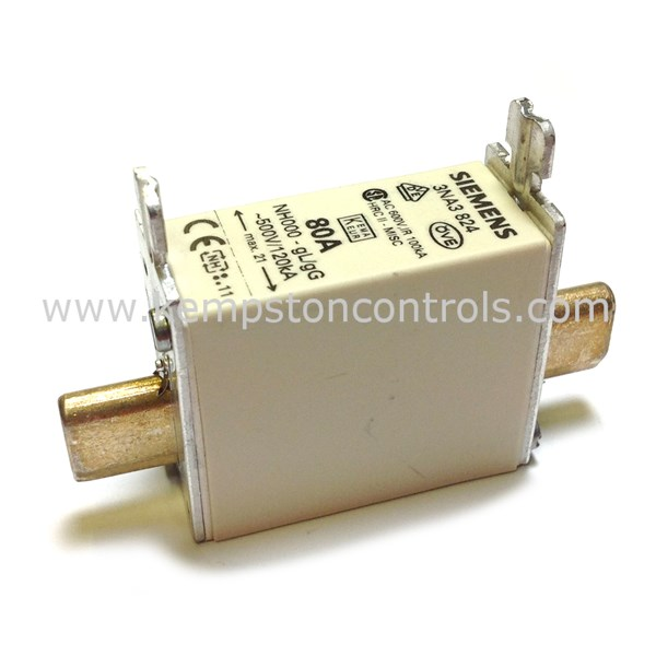 Siemens - 3NA3 824 - Centred Tag Fuses