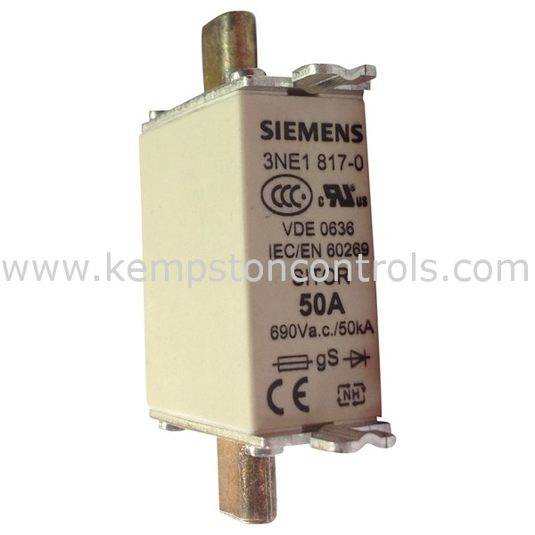 Siemens - 3NE1817-0 - Centred Tag Fuses