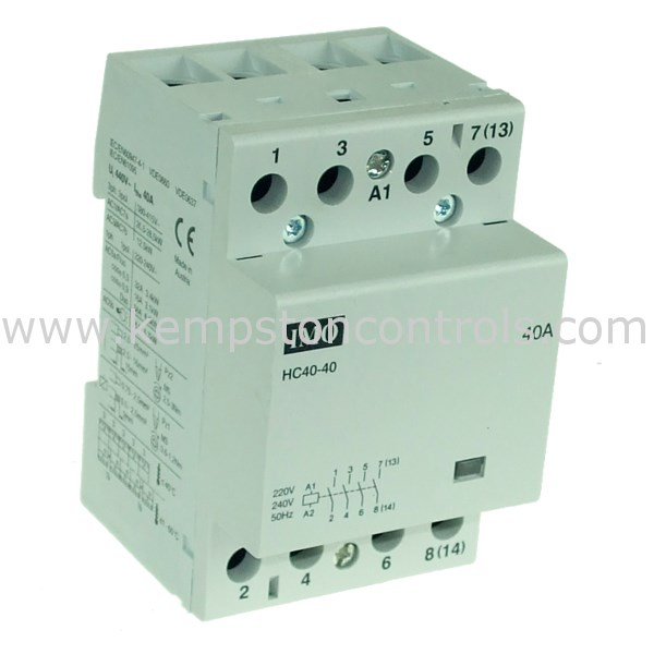IMO - HC40-40230 HEATING CONTACTOR Imo Relay Wiring Diagram on