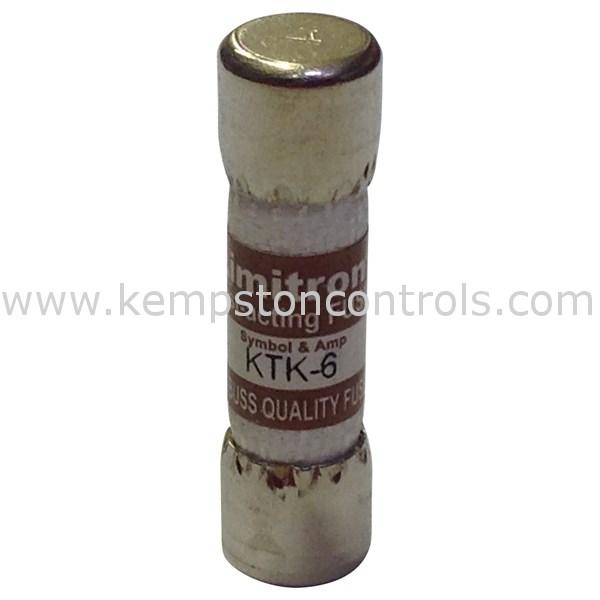 Bussmann KTK-6 Cartridge Fuses
