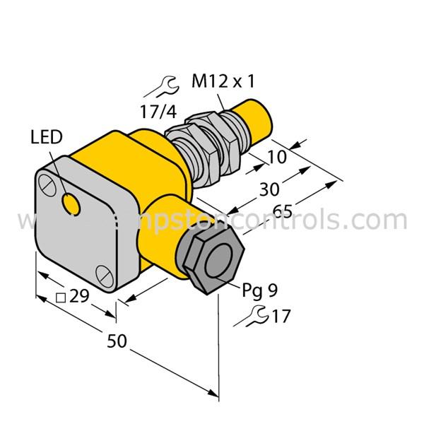 Turck Banner Ni5 G12sk Y1x Turck Inductive Sensor Atex
