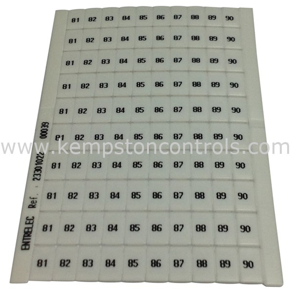 Entrelec - 0233 010.22 - Terminal Blocks, DIN Rail & Accessories