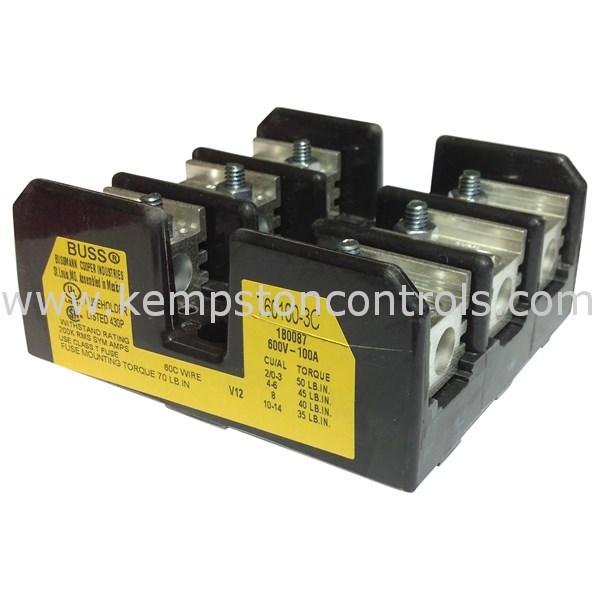 Bussmann - T60100-3C - Fuse Blocks