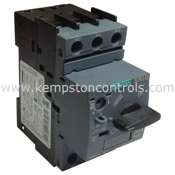 Siemens - 3RV2021-4PA10 - Motors and Motor Drives