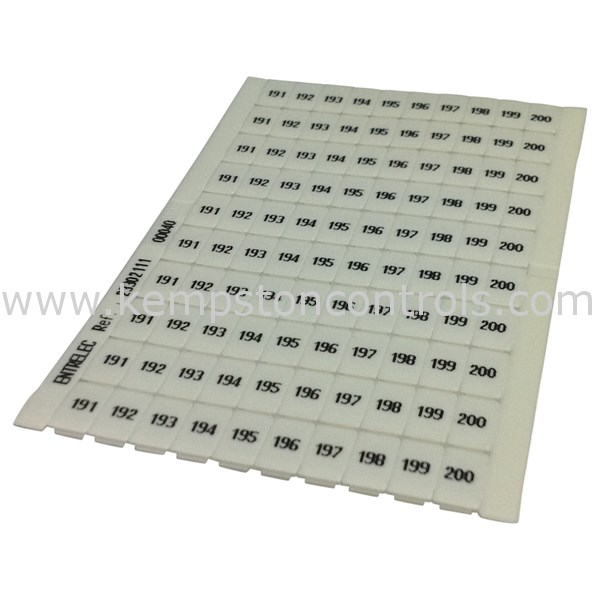 Entrelec - 0233 021.11 - Terminal Blocks, DIN Rail & Accessories
