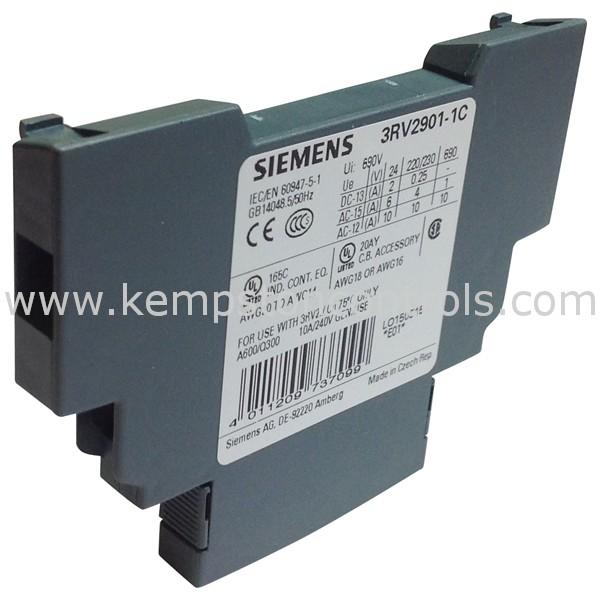 Siemens - 3RV2901-1C - Electrical Contactors