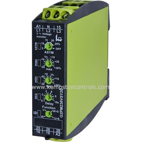 Telecontrol - G2PM400VSY20 - Monitoring Relays
