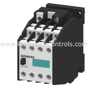 Siemens - 3TH4280-0BB4 CONTACTOR RELAY, 80E, DIN EN 50011, 8 NO, SCREW  TERMINAL DC OPERATION 24 V DC