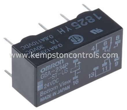 Omron - G6A-234P-ST-US 24DC - Non-Latching Relays