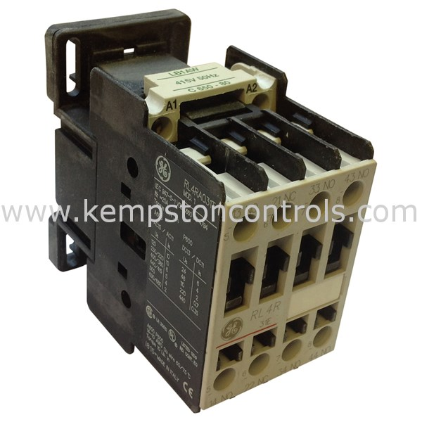 GE RL4RA031TW Electromechanical Relays