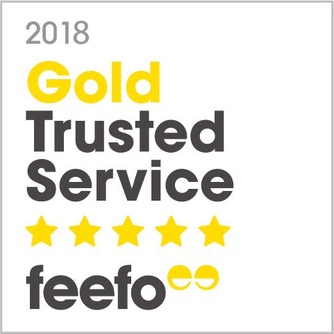 Feefo Trusted Service Award 2018