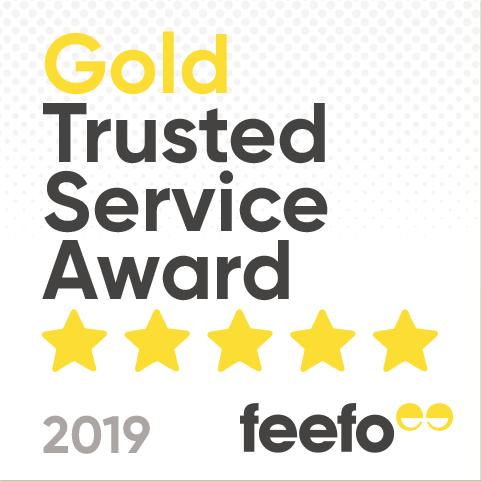 Feefo Trusted Service Award 2019